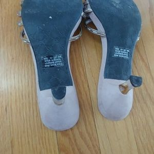 Franco Sarto Shoes - Mauve slip on shoes
